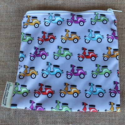 Little Vespa Sandwich Bag